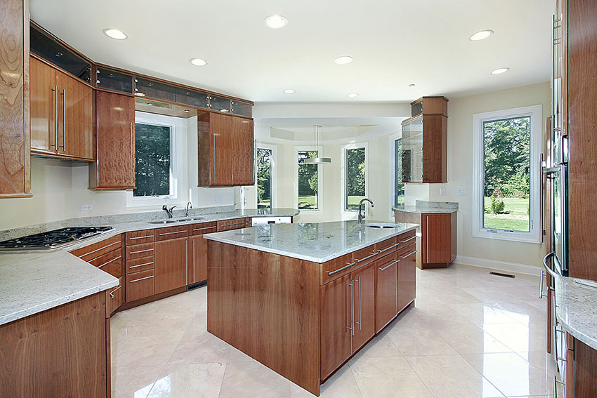 Contemporary-Kitchen---Acrylic-Bole-Cabinets | Amazing Cabinetry ...