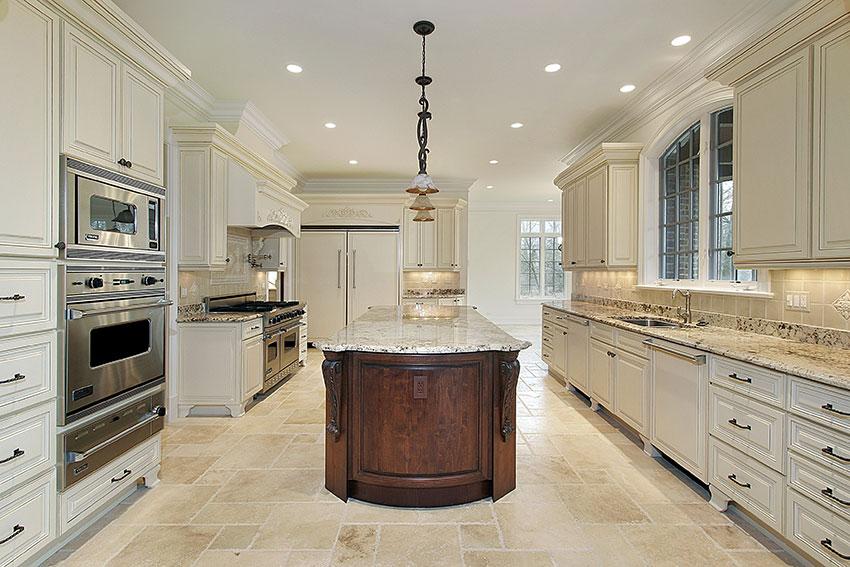 Luxury-Kitchen---Vanilla-Bean-Cabinets-with-Dark-Cocoa-Island ...