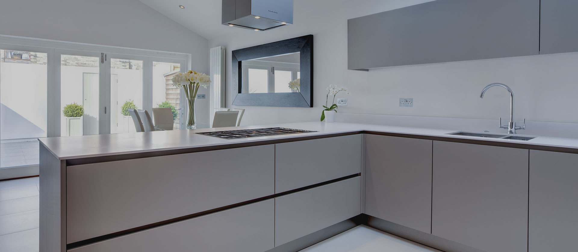 shaker cabinet painted contemporary linen microwave door rockford mid cliqstudios cabinets undercounter