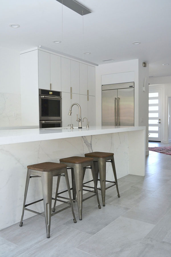 Contemporary Kitchen Cabinets White Marbel 2 Amazing Cabinetry Mission Viejo